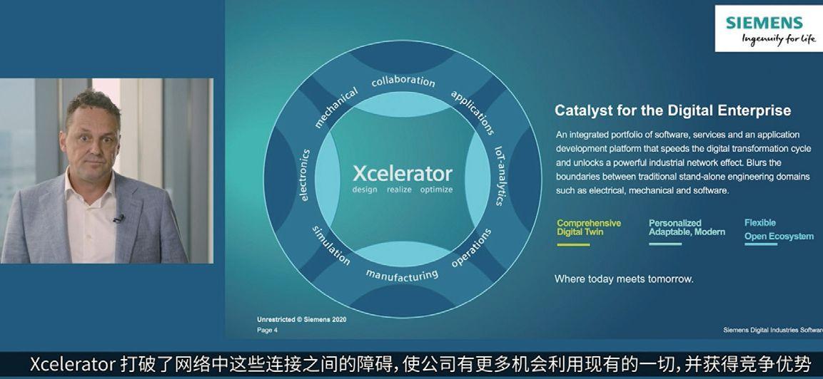 """携手共建数字化生态 ——西门子数字化工业软件""""2020 Realize LIVE用户大会""""线上召开"""