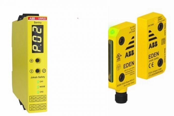 ABB Sentry安全继电器和Eden安全传感器为设备安全运行保驾护航