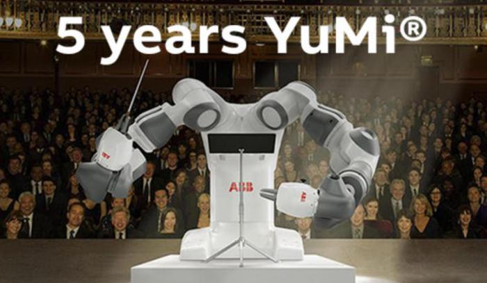 ABB YuMi®问世五周年,始终引领协作机器人新标杆
