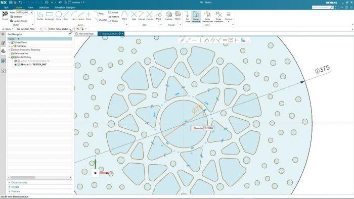 西门子推出业内首项人工智能 CAD 草图绘制技术