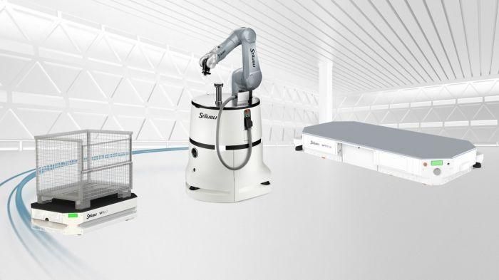 移动自动化革新内部物流——史陶比尔全方位内部物流和生产物流解决方案亮相工博会