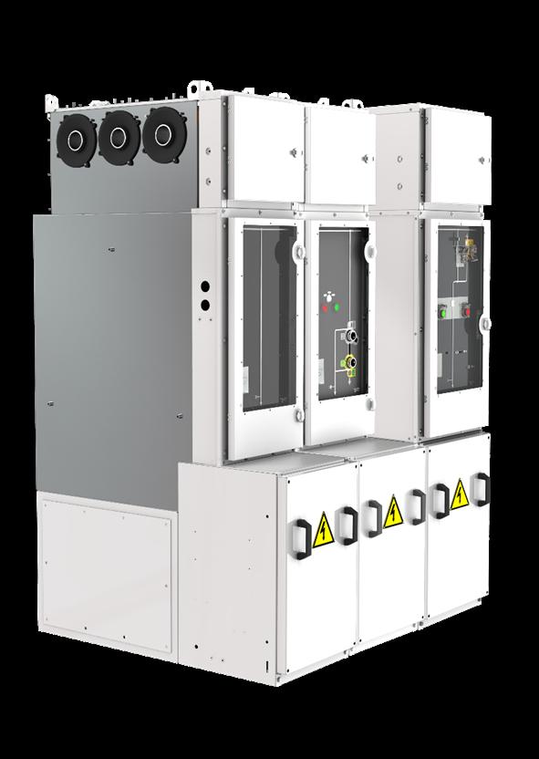 施耐德电气发布新一代 FLUSARC 40.5kV户内气体绝缘环网柜,为新能源跨越式发展稳健护航